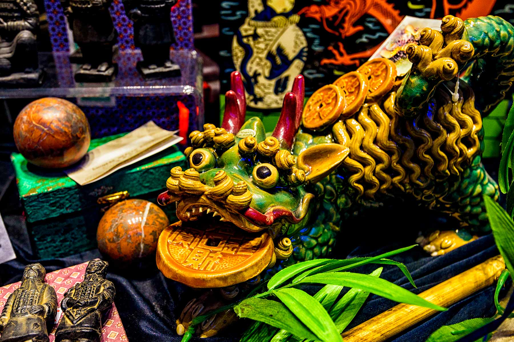 china town display